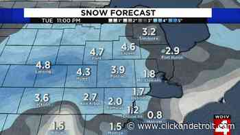 Metro Detroit weather: More snow tonight -- here's what to expect - WDIV ClickOnDetroit