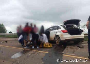 Grave acidente é registrado entre Passo Fundo e Lagoa Vermelha - Rádio Studio 87.7 FM | Studio TV | Veranópolis