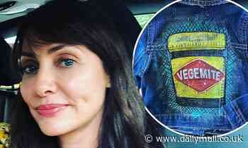 Natalie Imbruglia's one-year-old son Max receives adorable Vegemite themed jacket on Australia Day