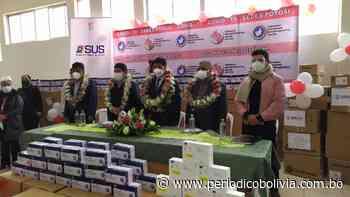 Gobierno entrega a Potosí 32.250 pruebas de antígeno nasal y 15 ventiladores - Periódico Bolivia