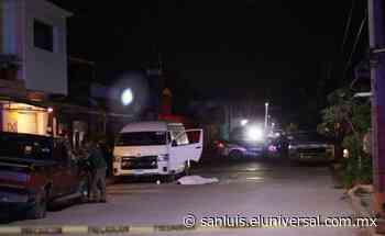 Investigan homicidios ocurridos en la capital potosina | San Luis Potosí - El Universal