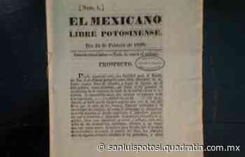 Los periódicos más antiguos de SLP - Noticias de San Luis Potosí - Quadratín San Luis