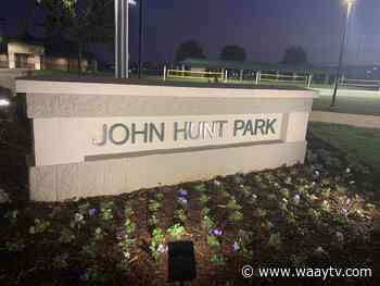 Huntsville's John Hunt Park ramps up coronavirus vaccine distribution - WAAY