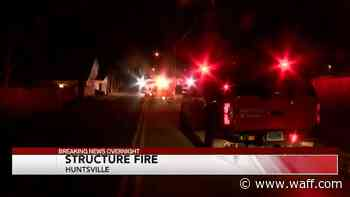 Structure Fire in Huntsville Saturday morning - WAFF