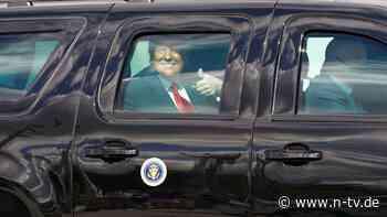 Nach Abschied aus Washington: Trump eröffnet Büro in Florida