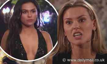 The Bachelor: Anna Redman accuses show newcomer Britanny Galvin of being an 'escort' in Chicago