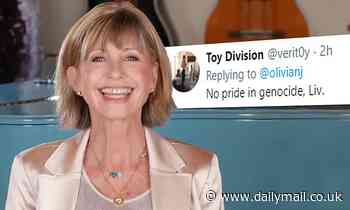 Olivia Newton-John divides fans with Australia Day message for not mentioning Aboriginal people