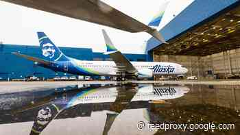 Alaska gets its first Boeing 737 Max