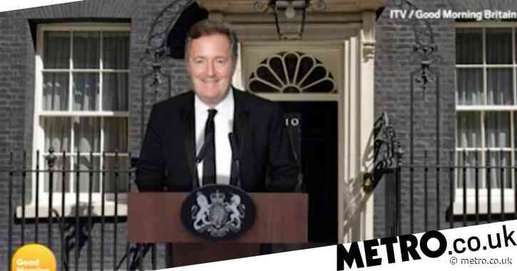 Piers Morgan weighs in on campaign launched to make him Prime Minister: 'I couldn't be worse than Johnson!'