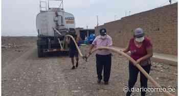 Abastecen de agua a los asentamientos humanos del distrito de Chicama - Diario Correo