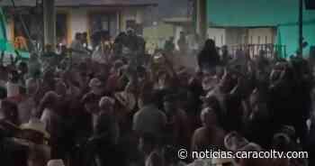 Carnaval de COVID-19: irresponsables se reunieron a celebrar en pleno pico de la pandemia - Noticias Caracol