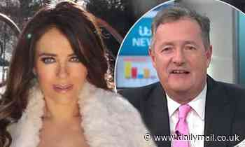 Piers Morgan, 55, SLAMS Liz Hurley, 55, for latest topless snap and demands she 'puts clothes on'