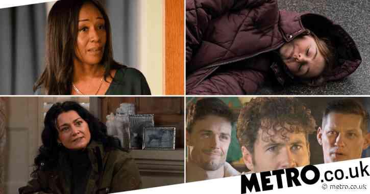 12 soap spoiler pictures: EastEnders Denise death trauma, Coronation Street car crash horror, Emmerdale gun showdown, Hollyoaks abuse