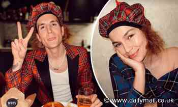Newlywed Oliver Proudlock surprises his wife Emma Louise Connolly with a Burns Night celebration