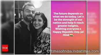 Anushka-Virat send out Republic Day wishes