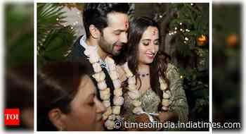 Pics from Varun-Natasha's Roka ceremony