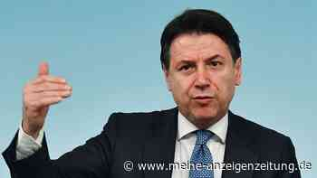 Paukenschlag in Italien: Ministerpräsident Conte reicht offiziell Rücktritt ein