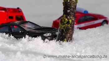 Mehrere Winterunfälle im Dachauer Landkreis