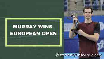 Andy Murray battles past Stanislas Wawrinka to win the European Open - Republic World
