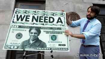 Mit erster schwarzer Frau: Biden-Regierung plant neue 20-Dollar-Note