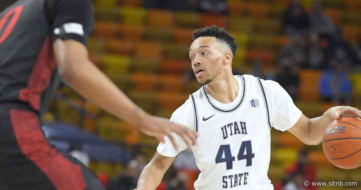 Utah State drops second straight, falls to UNLV 59-56