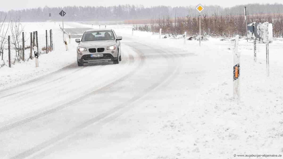 Schneefälle im Landkreis Landsberg sorgen für Unfälle