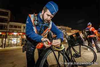 Vijf fietsers niet in orde tijdens grote politiecontrole
