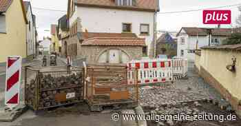 In Stadecken-Elsheim zieht die Baustelle an der L 426 weiter - Allgemeine Zeitung