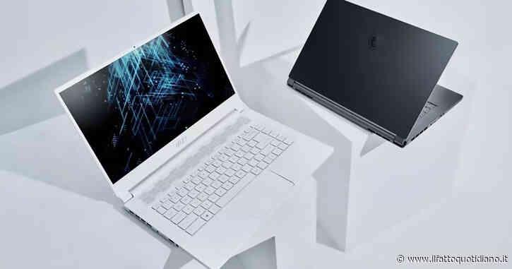 MSI, ecco tutti i nuovi portatili con schede grafiche Nvidia di ultima generazione