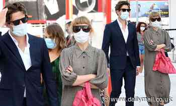James Norton strolls with partner Imogen Poots at Venice Film Festival - Daily Mail