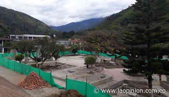 Avanza la recuperación del parque principal de Cucutilla   La Opinión - La Opinión Cúcuta