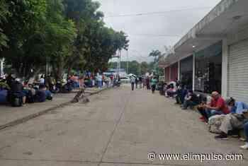Decenas de personas están varadas en terminal de San Antonio del Táchira pese a la flexibilización - El Impulso