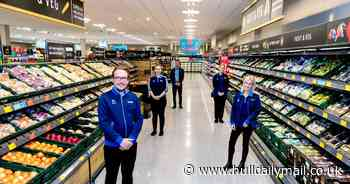 Aldi confirms mask mask change for staff working at checkouts