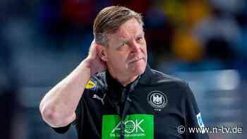 Handballer hadern mit der WM: Die Realität ist rostig, der Traum bleibt Gold