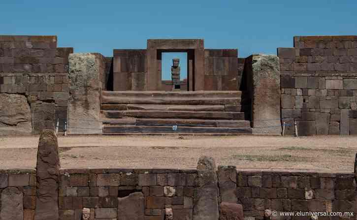 Revelan histórico hallazgo arqueológico en Tiahuanaco   El Universal - El Universal