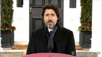 Coronavirus: Trudeau defends Canada's border, travel restrictions