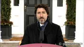 Coronavirus: Trudeau discusses HASCAP business relief program