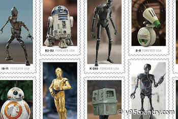 'Star Wars' Droid Stamps Are Coming to Our Galaxy