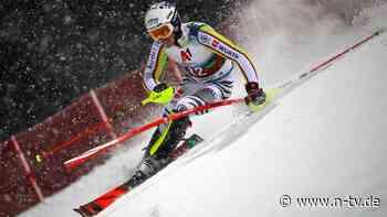 Dämpfer im Slalom-Weltcup: Straßer verbockt's in Schladming doppelt