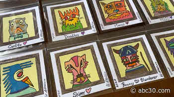 Bay Area artist starts sticky note campaign to raise money for animal shelters around the world