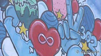 Local artist creates Delaware Street Art Trail to inspire unity, hope