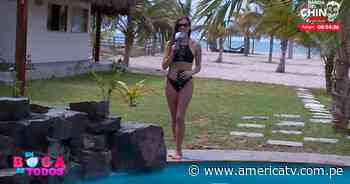 Maju Mantilla se luce en bikini desde su hotel en Zorritos - América Televisión