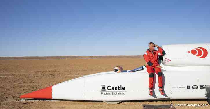 Bloodhound's 1,000 mph rocket car being sold for $11 million