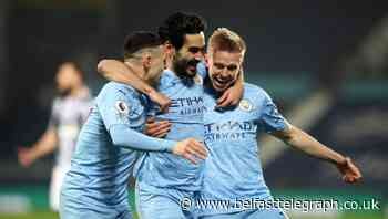 Manchester City move top of the Premier League after West Brom rout