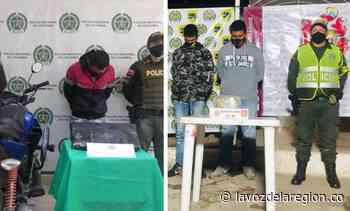 Nuevas incautaciones de estupefacientes en Isnos y La Plata - Noticias