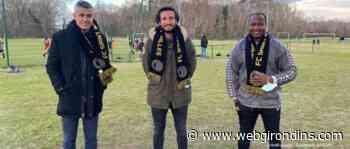 Paul Baysse parrain du Football Club Saint Medard en Jalles - WebGirondins
