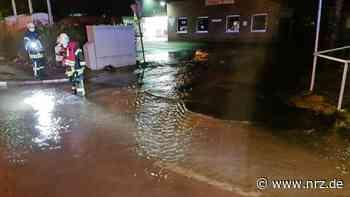 Kleve: Hauptwasserleitung in Rindern gebrochen - NRZ