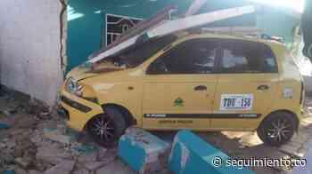 Hombre resultó gravemente herido tras ser embestido por un taxi en Ponedera - Seguimiento.co
