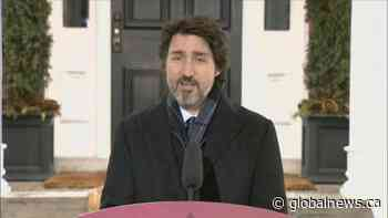 Coronavirus: Prime Minister urges Canadians to cancel travel plans   Watch News Videos Online - Globalnews.ca