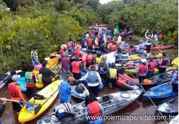 Lucena realiza a 1ª Descida Caiaque do Rio Tapira com cerca de 80 participantes - Polêmica Paraíba - Polêmica - Polêmica Paraíba